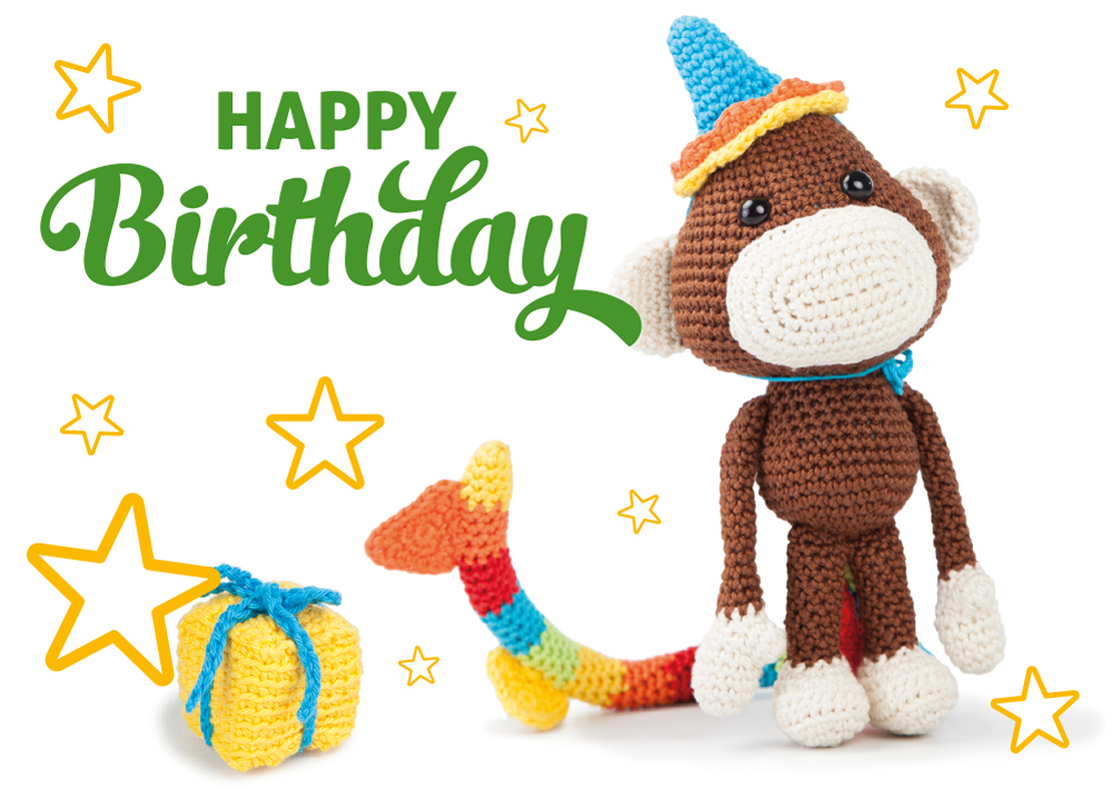 Birthday Blog Dendennis Craft Designer Crochet Amigurumi