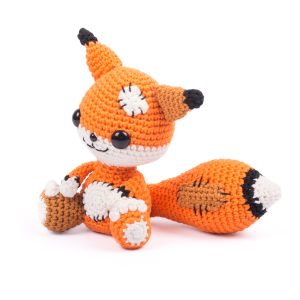 Amigurumi Messy the Fox