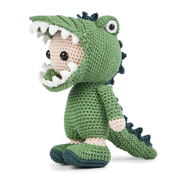 Amigurumi Croco Joe