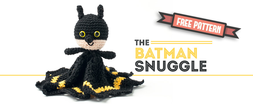 Free Pattern – Batman Snuggle - Dendennis | craft designer - crochet ...