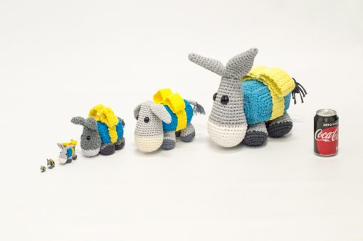 Multiple Gift Donkeys