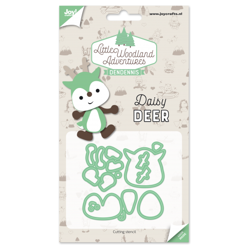 Diecut-Little woodlands-deer