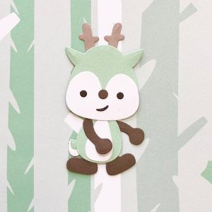 Diacut-Little Woodland Adventures - Daisy Deer