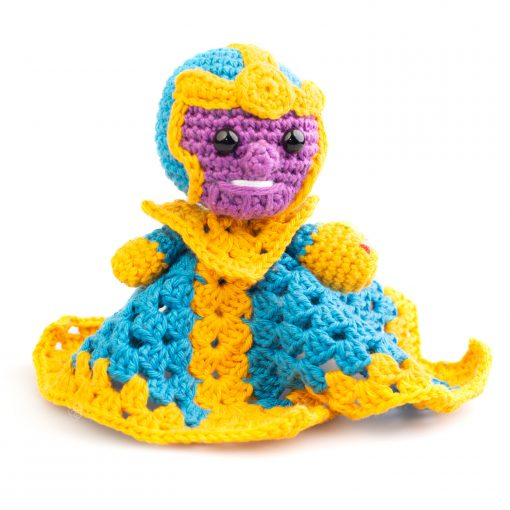 Crochet Marvel Thanos snuggle